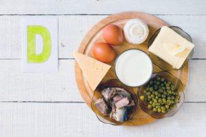 vitamine D dans l'assiette